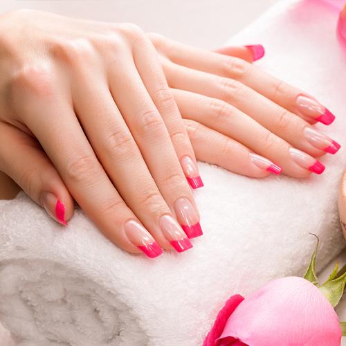 manicure nails velvet beauty ink