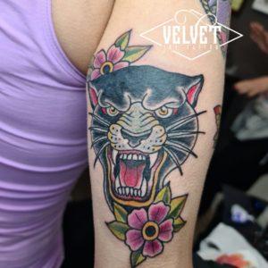 tigre tatuaggio roma